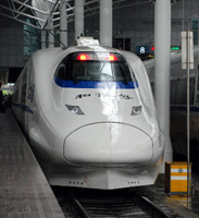 Beijing to Shanghai D category high-speed train