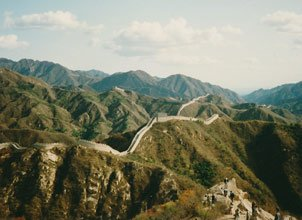 The Great Wall of China, looking beyond Badaling