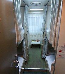 4-berth cabin on the Osaka-Shanghai ferry