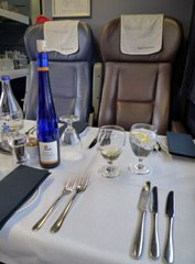 Pullman dining on the Cornish Riviera Express