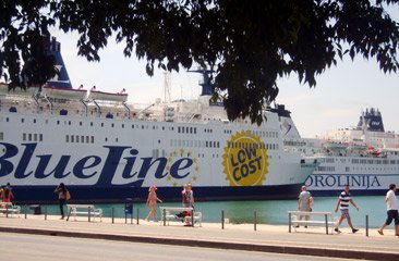 Ancona to Split ferries in Split Harbour
