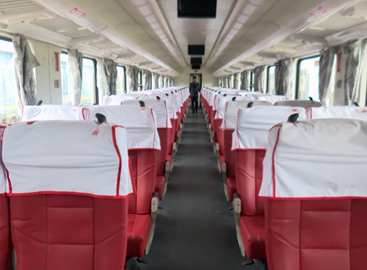 1st class seats on the new trains