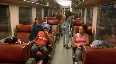 Primera especial seating on the Tren Frances to Havana