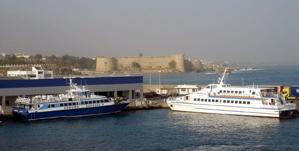 Ferry to Cyprus