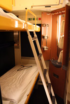 A 1 2 or 3 bed sleeper on the Cologne-Prague overnight train