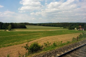 Scenery between Nuremberg & Cheb