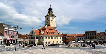 Brasov, Romania - the main square