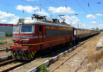 The Danube Express at Kazanlak, Bulgaria