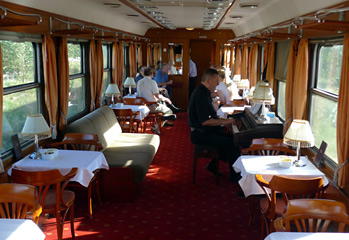 Danube Express lounge car