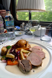 Dinner on the Danube Express