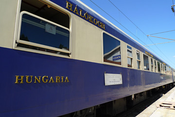 Danube Express train exterior