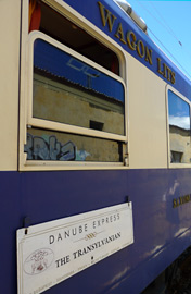 Danube Express destination board