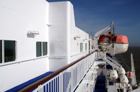 Crossing to Denmark aboard DFDS Seaways ferry m/v 'Dana Sirena'