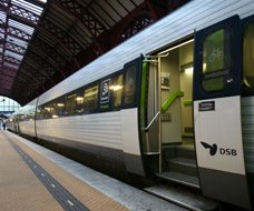 InterCity train at Copenhagen about to leave for Esbjerg...