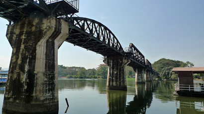The Eastern & Oriental Express visits the Bridge on the River Kwai