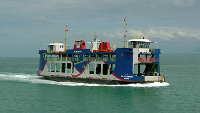 The Penang-Butterworth ferry