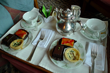 Afternoon tea on the E&O, also served in your compartment