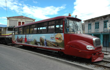 How to travel by train in Mexico Central South America