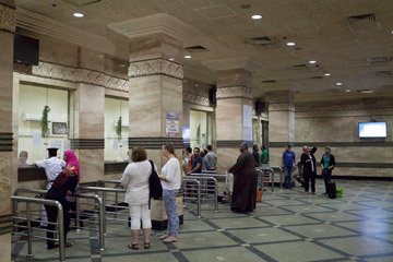 Cairo station ticket oiffice