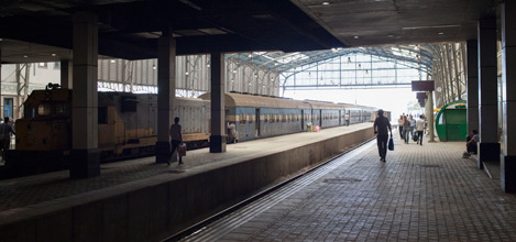 Cairo station trainshed