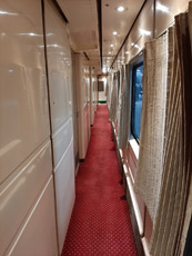sleeper train corridor