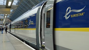Europe starts on Eurostar at St Pancras...