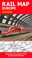 European Rail Map cover