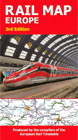 Traveller's Railway Map of Europe - buy online