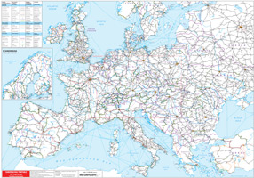 Europe Rail Map TRAIN TRAVEL IN EUROPE | A beginner's guide