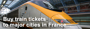 Buy Eurostar & TGV train tickets from London to France