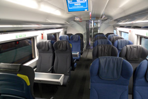 Eurostar second class from London to Paris