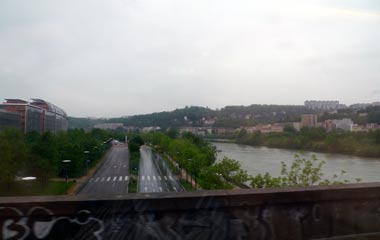 The Rhone at Lyon