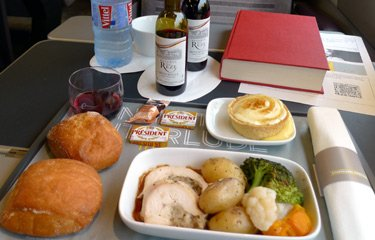 Lunch on the Eurostar to Marseille