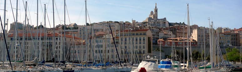 The Vieux Port at Marseille