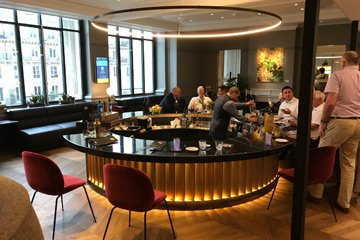 Business Premier lounge at Paris Nord