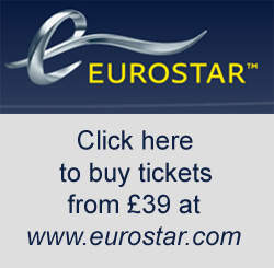 Buy Eurostar tickets from London to Paris
