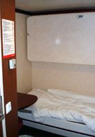 2-berth cabin with shower on board the ferry