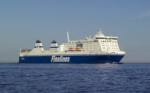 Finnlines ferry from Travemunde to Helsinki