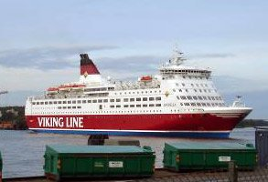 Viking Line ferry from Stockholm to Turku in Finland