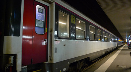 Intercite de nuit overnight train