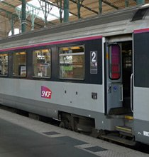 Intercité train at Paris Nord