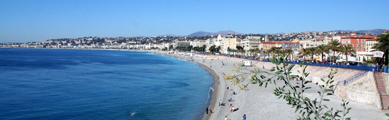 The Promende des Anglais at Nice