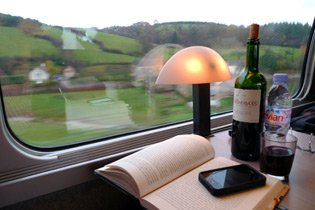 Chill out by high-speed train from London to Barcelona!