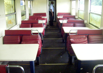 Ntsa Express restaurant car