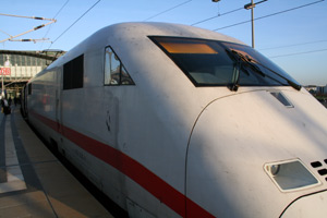 from Munich to Amsterdam by train