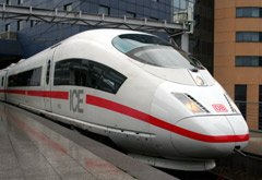 High-speed ICE3 train from Brussels to Cologne & Frankfurt