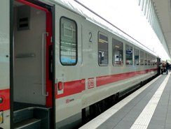 German InterCity train