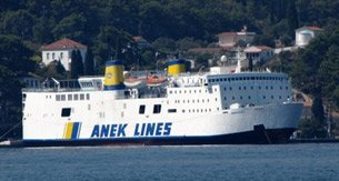 Ferries from Piraeus to Crete, seen at Heraklion