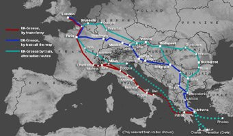 How To Travel By Train From London To Athens Amp Greece