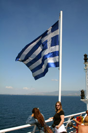 Holidays without flying:  Arriving in Greece by train + ferry from London...